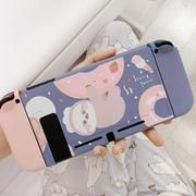 Doughnut Sloth Pastel case for Nintendo Switch The perfect company for your Nintendo Switch, a Doughnut Sloth Pastel case. The bundle that exists, but you never know you need it. The completely cute protection set for your Nintendo Switch included screen protector, button cover, shell cover, joy-con cover, travel case Nintendo Switch Case, Nintendo Switch Accessories, Pink Panda, Switch Covers, Covered Buttons, Sloth, Screen Protector, All In One, Animal Crossing