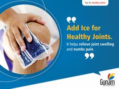 Ice is a great drug-free pain reliever. It helps decrease joint swelling and pain. If your joint hurts, apply ice for 15 minutes. Visit:http://bit.ly/2h5abVS  #GunamSuperSpecialityHospital #healthtips #Healthcare #DestinationHealthcare #HospitalinHosur #healthyindia #orthopaedics #Healthyjoints