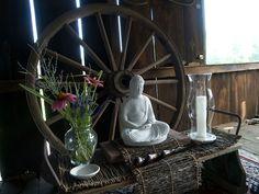 summer zen-do altar