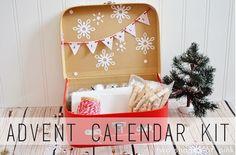 Advent Calendar kit I Heart Nap Time | I Heart Nap Time - Easy recipes, DIY crafts, Homemaking