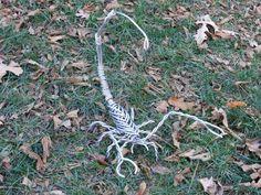 Scorpion Sculpture Aluminum Metal Sculpture Garden Yard Art Large