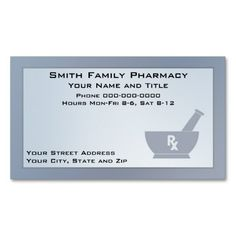 191 best pharmacist business cards images on pinterest in 2018 pharmacist business card colourmoves