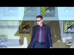 Official- Marvel's The Avengers: Age of Ultron Cast Assembles at Comic-Con 2014 - YouTube