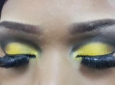 Yellow & dark grey