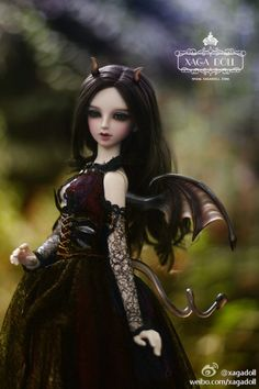 Hecate (Limited)   Xaga Doll Hecate with double jointed body. Limited edition of 50 dolls worldwide. $815.00