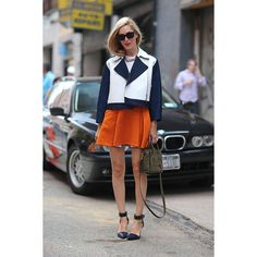 Street Style New York Fashion Week Spring 2014 found on Polyvore