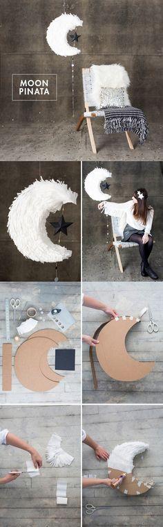 Moon piñata
