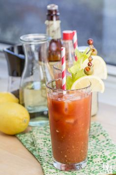 chile-infused vodka Bloody Mary