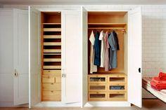 Plain English Built-In Closet