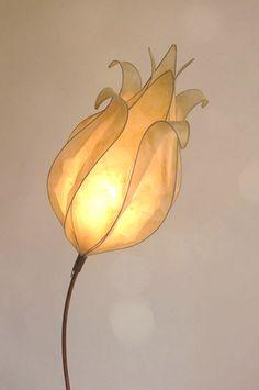 Graceful, tissue paper light.