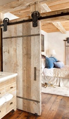 Vintage-Plate Sliding Barn Door Hardware