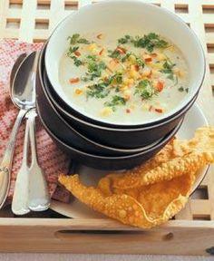 Rezept: Pastinaken-Suppe mit Apfelcroûtons Rezept - [LIVING AT HOME]