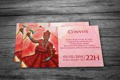 Convites religiosos: Xangô. #Invite #Creative #Orixá #Xangô #GuaráDesign