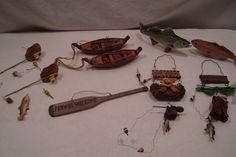 Fishing theme ornaments