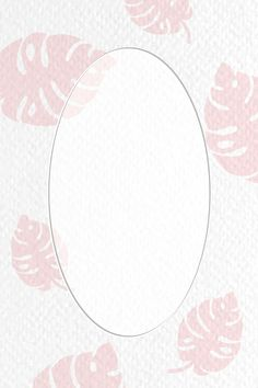 Oval frame on botanical patterned vector | premium image by rawpixel.com / Techi Vector Can, Oval Frame, Social Media Template, Page Design, Digital Illustration, Royalty Free Images, Week Planner, Backgrounds, Blank Space