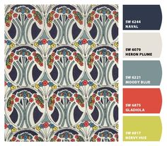 PAINT COLORS FROM CHIP IT! BY SHERWIN-WILLIAMS- LIBERTY FABRIC