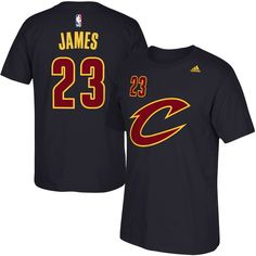 Men's Cleveland Cavaliers LeBron James adidas Black Net Number T-Shirt Nba Shirts, Basketball Shirts, Soccer, Kyrie Irving Shirt, Black Adidas, Adidas Men, Adidas Shoes, Lebron James Cavaliers, Lebron James Cleveland