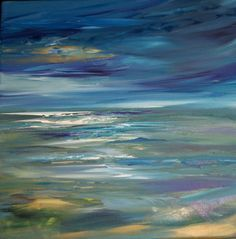Original Painting Ocean Seascape by Sheri by sherischart on Etsy