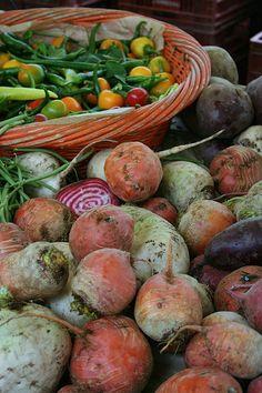 Colorful vegetables, Paris market