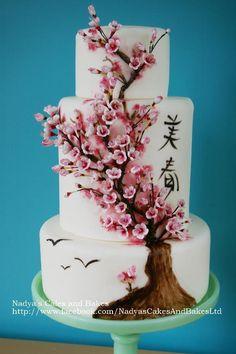 cherry blossom cake decorations - Google Search