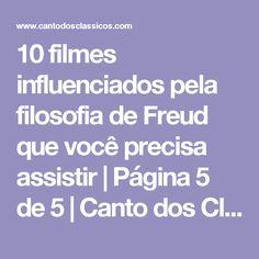 10 filmes influenciados pela filosofia de Freud que você precisa assistir | Página 5 de 5 | Canto dos Clássicos