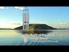 Paradise is anywhere you want it to be with the Bells of Paradise Chime - Large, Silver by Woodstock Chimes ($80.45)