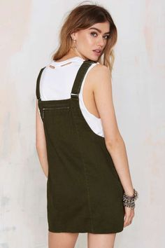 Nasty Gal Army of One Overall Dress - Day | Shift | Dresses |  | Newly Added | Dresses