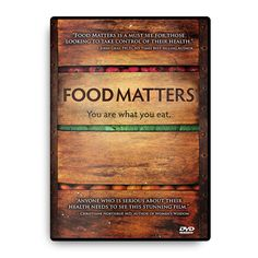 Food Matters is a feature-length documentary film informing you on the best choices you can make for you and your family's health.