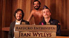 Ditador Gay recebe o deputado federal Jean Wyllys em seu gabinete-sauna. http://rafucko.com