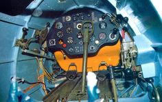 Here is the instrument panel of a Polikarpov I-16.