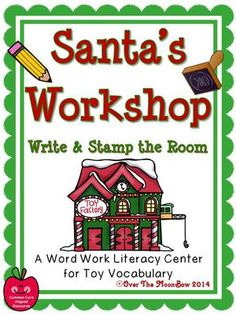This fun, Santa's Workshop themed activity pack will help your students practice reading, writing, & toy vocabulary! It's a perfect complement to your seasonal activities!