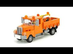 LEGO Old truck. MOC Building Instructions - YouTube