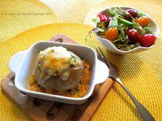 La cuisine de Messidor: Pâté au saumon express dans une pomme de terre