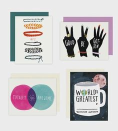 Greeting Card Assortment by Idlewild Co. on Scoutmob Shoppe