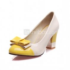 Women's Heels Spring Summer Fall Winter Comfort Novelty Patent Leather Leatherette Wedding Office & Career Dress Casual Party & Evening - USD $28.99 ! HOT Product! A hot product at an incredible low price is now on sale! Come check it out along with other items like this. Get great discounts, earn Rewards and much more each time you shop with us!