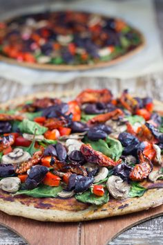 Gluten-Free Buckwheat Pizza has the perfect crunchy crust and tastes AMAZING. Is also suitable for Vegan and Dairy Free.