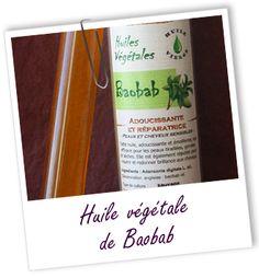 Fiche technique huile végétale de Baobab - Adansonia digitata L.