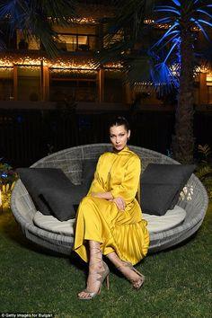 Bella Hadid and Alicia Vikander at Dubai Bulgari resort | Daily Mail Online