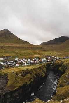 Gjógv Faroe Islands