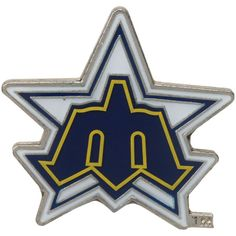Seattle Mariners Cooperstown Collection Logo Pin - $5.99