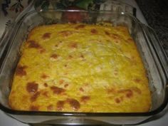 Torta de Choclo: Ecuadorean Fresh Corn Souffle