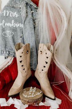 24 Cowgirl Boots Wedding Ideas For Country Celebration ❤ cowgirl boots wedding ideas beige for barn madiwagner #weddingforward #wedding #bride Wedding Looks, Wedding Bride, Wedding Ideas, Dress With Boots, Cowgirl Boots, Pairs, Beige, Celebrities, Shoes