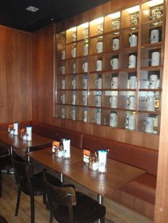 Solid Timber And Veneer Restaurant Display Cabinets Reception Counter, Entry Foyer, Joinery, Commercial, Photo Wall, Display Cabinets, Restaurant, Canning, Frame