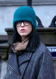 Katy Perry wearing Dolce & Gabbana Stripes Collections optical style DG3161P 2712 while taking in some sights and shopping in Amsterdam over the weekend.