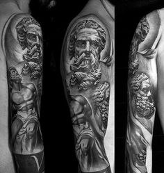 163 Best Greek Sleeve Images In 2019 Sculptures Greek Mythology