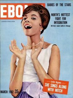 Ebony magazine, March 1962. (Leslie Uggams)
