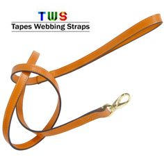 Dog leashes in leather are also available at us.  For more details click on the below link or call us on +9833884973/9323558399  http://tapeswebbingstraps.in/  Courtsey : Tapes Webbing strap