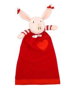 This Olivia Plush Toy Lovie Blanket is perfect! #zulilyfinds