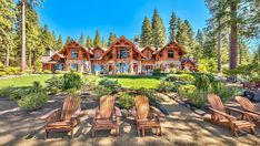 Inside a $60 Million Lake Tahoe Compound – Robb Report Tahoe City, Lake Tahoe, Yosemite National Park, National Parks, California Architecture, Incline Village, Boat Lift, Boater, Lake View