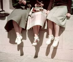 1950: Bobby Socks and Saddle Shoes